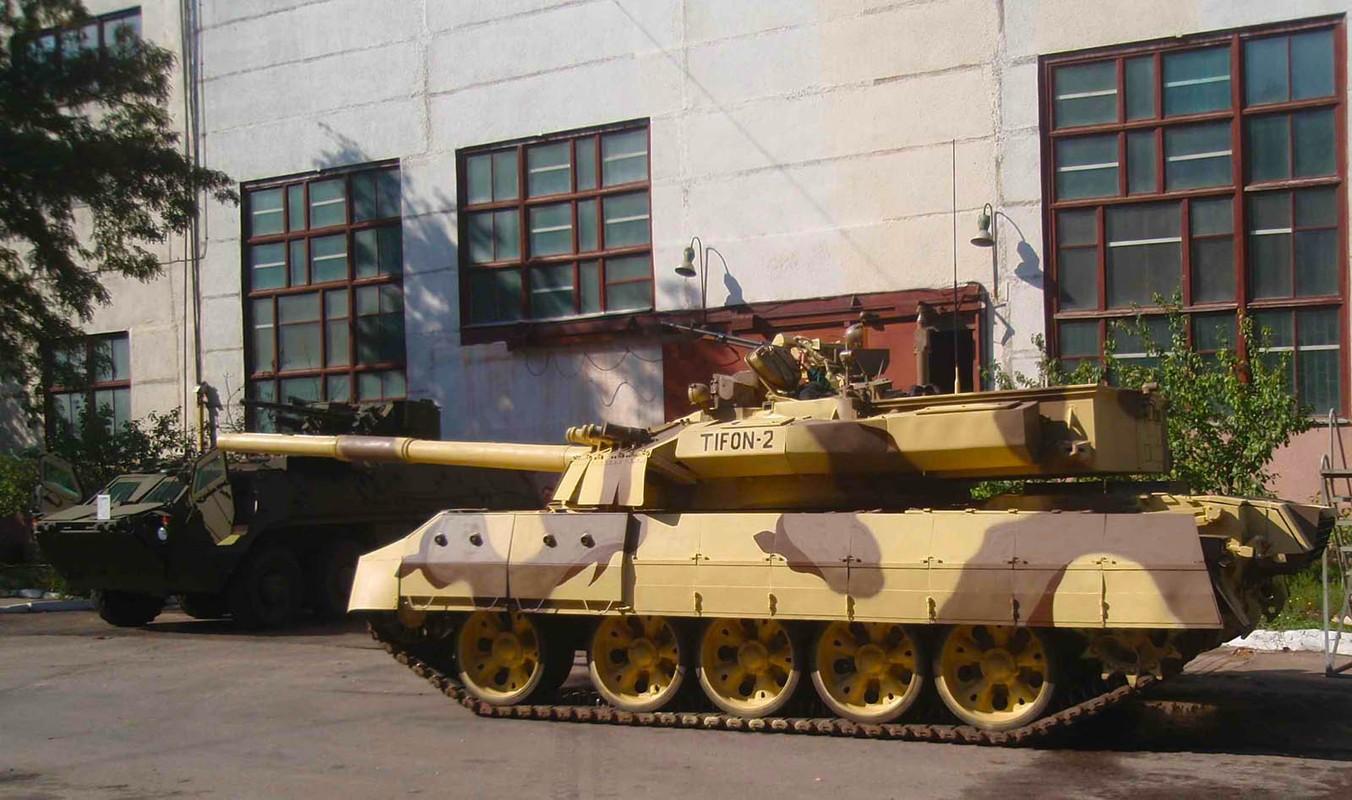 Tai sao Viet Nam khong nen nang cap xe tang T-55 len phien ban T-55M8A2 Tifon?-Hinh-6