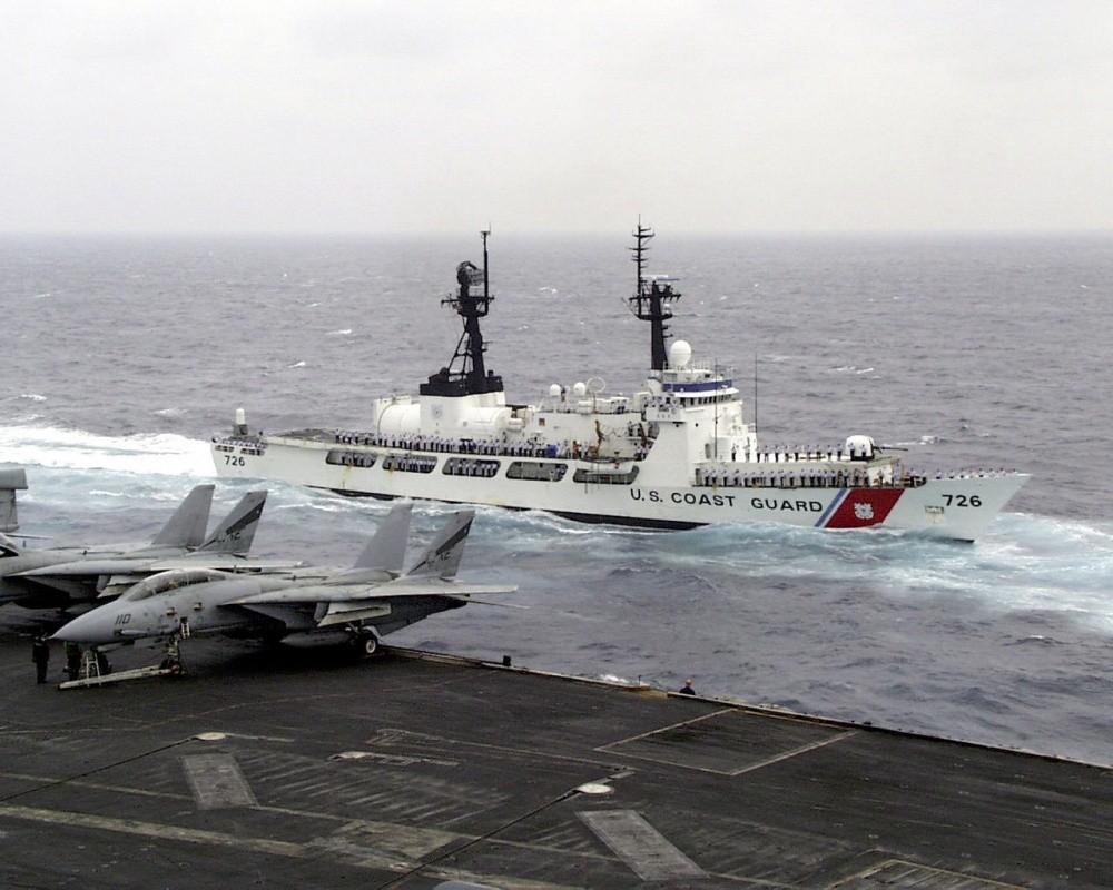 Tau tuan duyen USCGC John Midgett thao radar, vu khi... san sang ve Viet Nam-Hinh-11