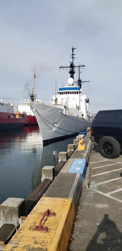 Tau tuan duyen USCGC John Midgett thao radar, vu khi... san sang ve Viet Nam-Hinh-4