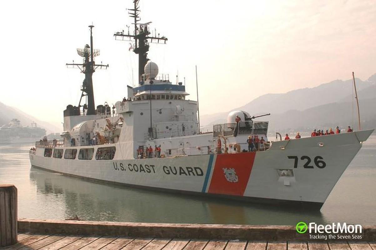 Tau tuan duyen USCGC John Midgett thao radar, vu khi... san sang ve Viet Nam-Hinh-9