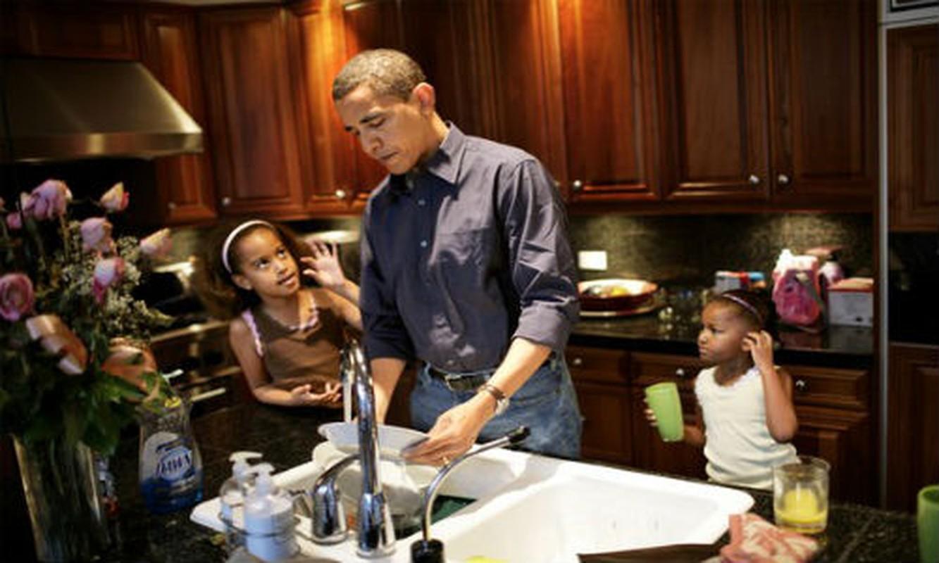 Ngám tỏng thóng Mỹ Obama trong vai trò làm cha tuyẹt vòi-Hinh-11