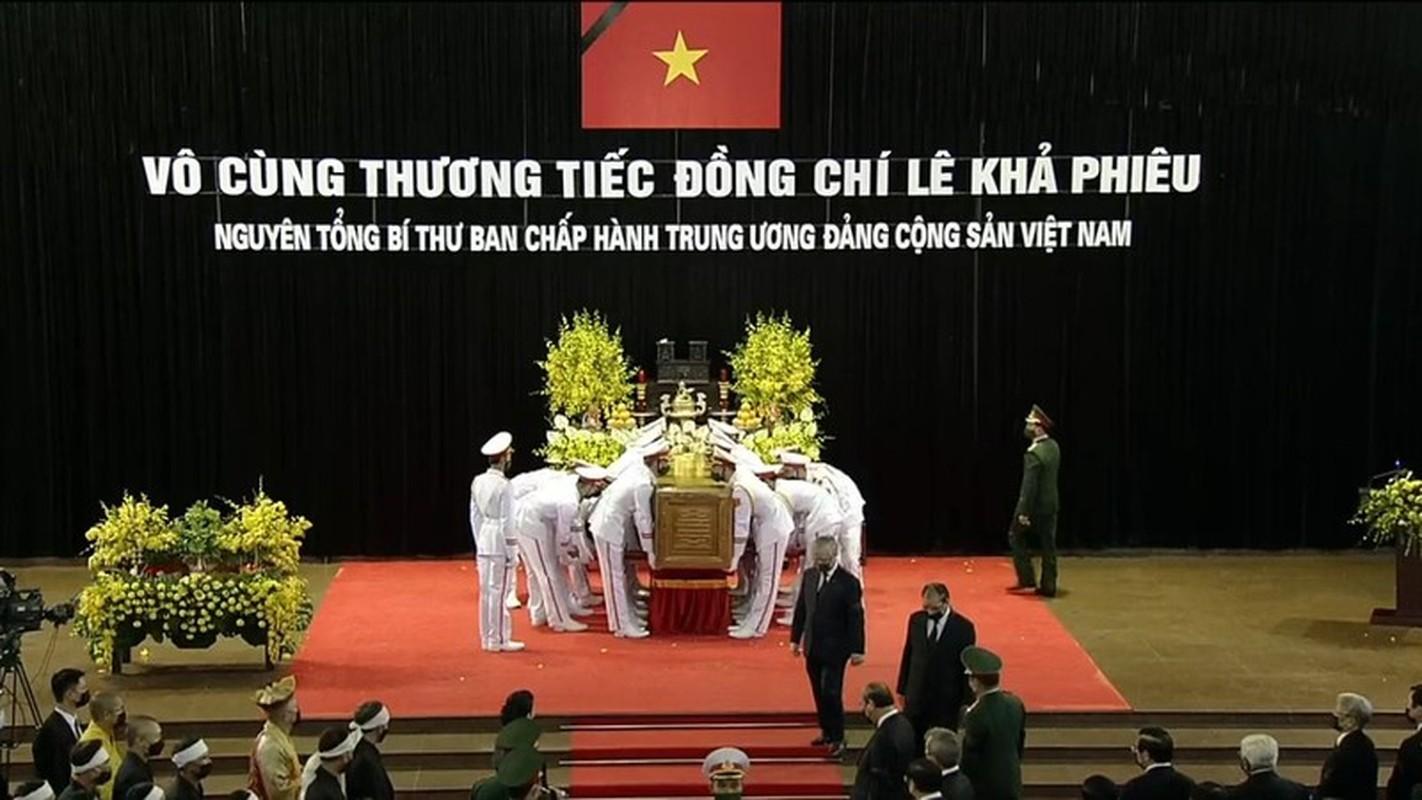 Nhung hinh anh xuc dong trong le truy dieu nguyen Tong Bi thu Le Kha Phieu-Hinh-11