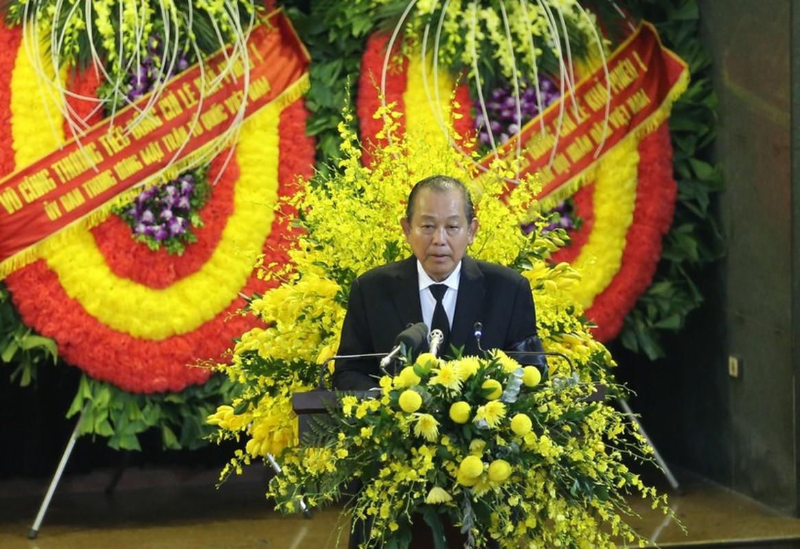Nhung hinh anh xuc dong trong le truy dieu nguyen Tong Bi thu Le Kha Phieu-Hinh-3