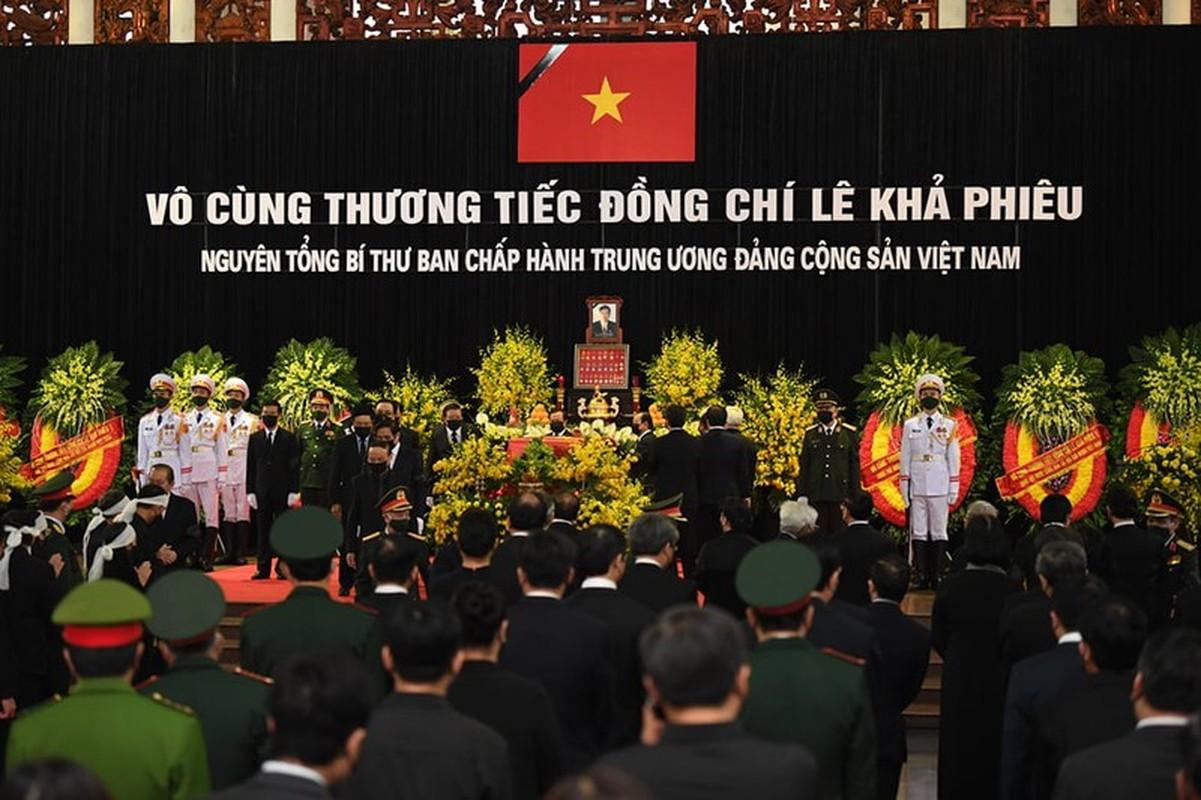 Nhung hinh anh xuc dong trong le truy dieu nguyen Tong Bi thu Le Kha Phieu-Hinh-8