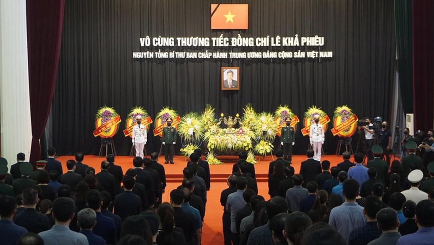 Nhung hinh anh xuc dong trong le truy dieu nguyen Tong Bi thu Le Kha Phieu