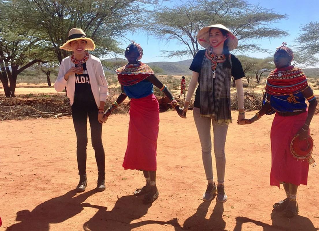 Pham Huong, Le Hang lang nguoi khi chung kien voi bi giet o Kenya
