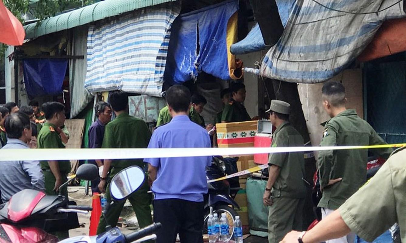 Anh: Hien truong vo mang thai 8 thang cung chong con chet bat thuong