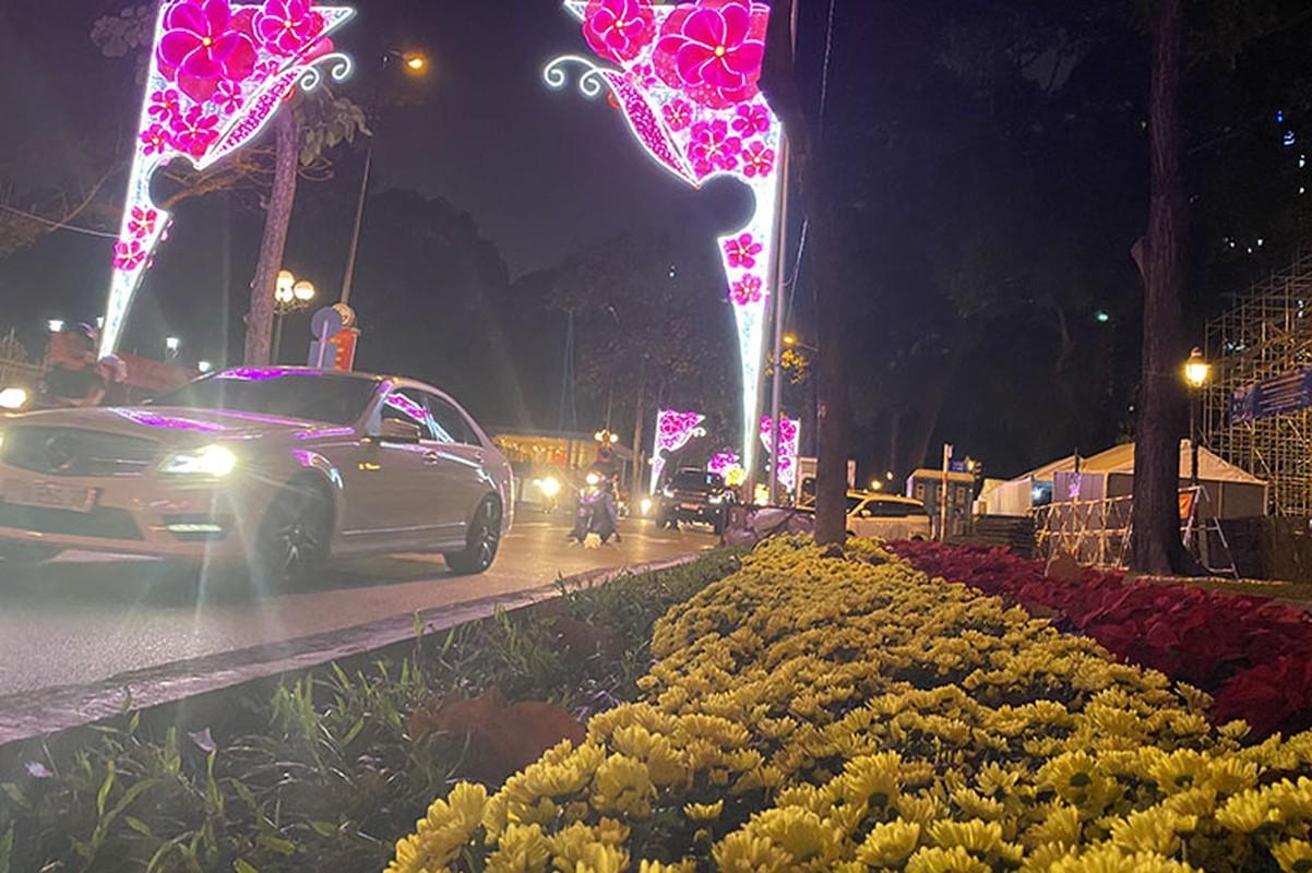 Canh long lay den hoa don chao 2020 o trung tam Sai Gon-Hinh-6