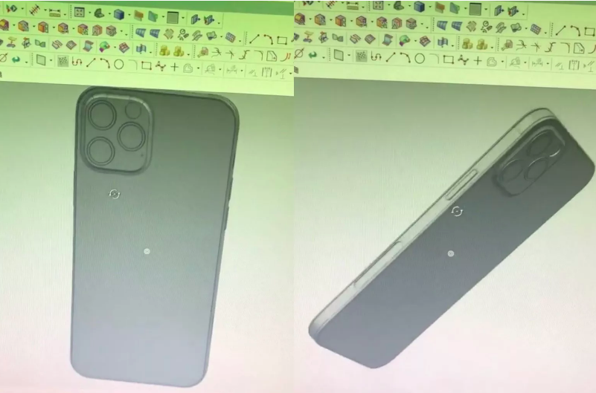 Khuon mau toan bo dong iPhone 12 tuong tu iPad Pro moi-Hinh-4
