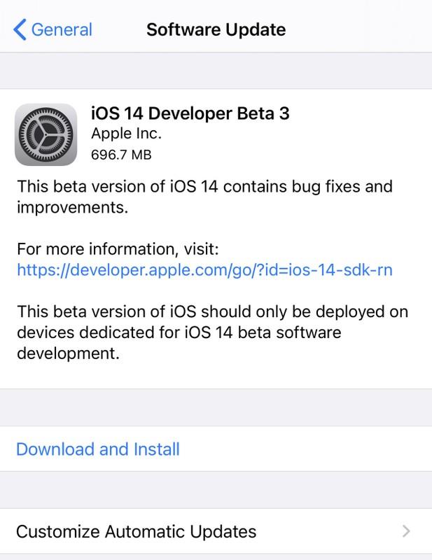 Nhung tinh nang moi cua iOS 14 Beta 3 vua ra mat danh cho fan
