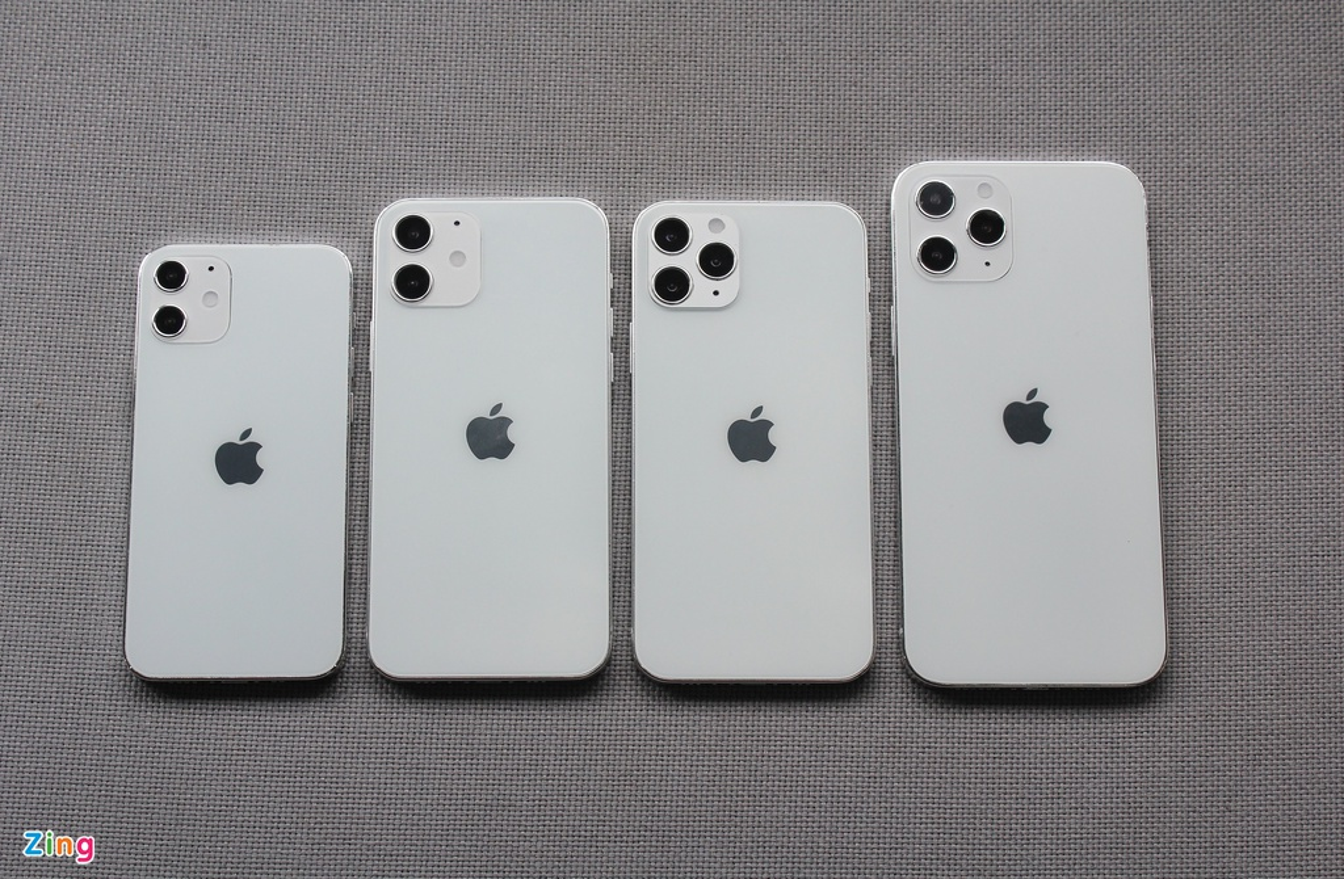 Top 4 mo hinh iPhone 12 xuat hien o Viet Nam