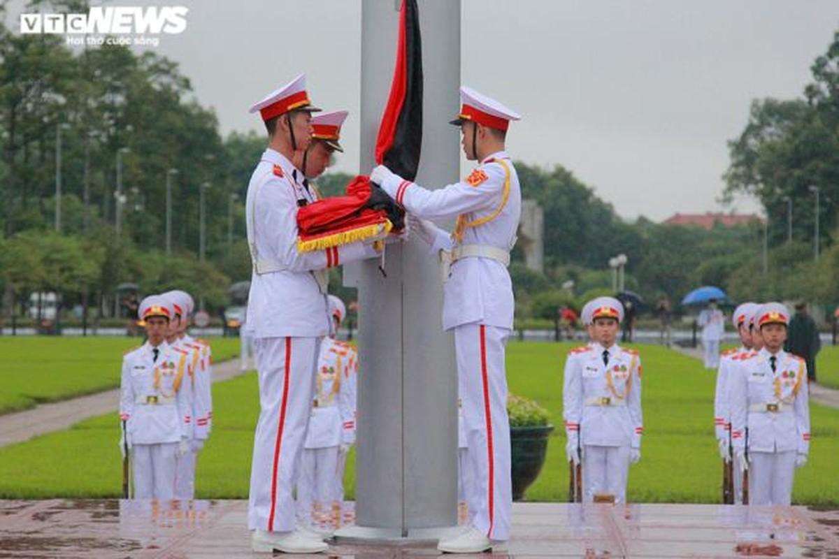 Anh: Le treo co ru Quoc tang nguyen Tong Bi thu Le Kha Phieu-Hinh-5