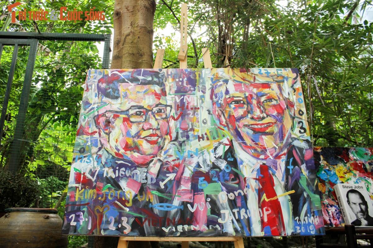 """Bo anh """"Donald Trump - Kim Jong Un"""" Thuong dinh My Trieu doc nhat cua hoa si Viet-Hinh-3"""