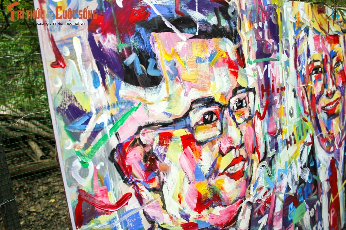 """Bo anh """"Donald Trump - Kim Jong Un"""" Thuong dinh My Trieu doc nhat cua hoa si Viet-Hinh-5"""