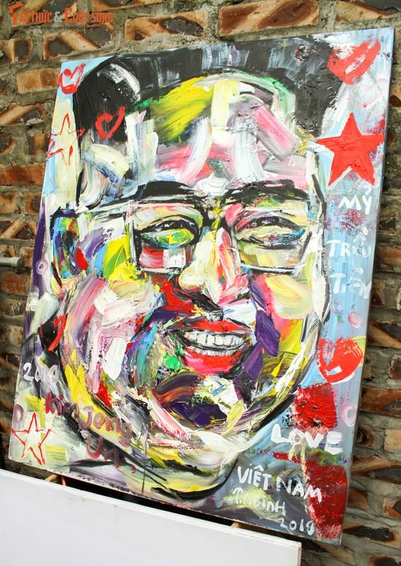 """Bo anh """"Donald Trump - Kim Jong Un"""" Thuong dinh My Trieu doc nhat cua hoa si Viet-Hinh-7"""