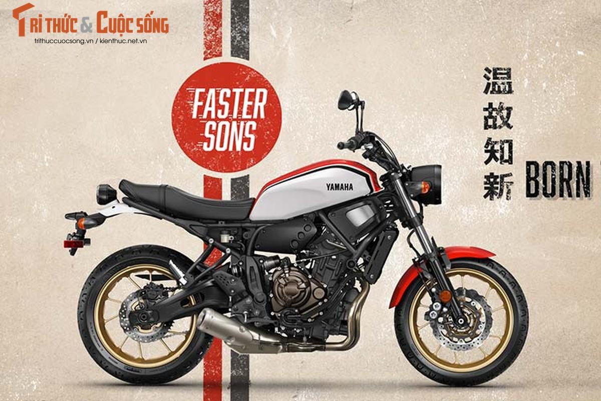 Yamaha XSR700 2020 them mau moi, tu 197 trieu dong-Hinh-11