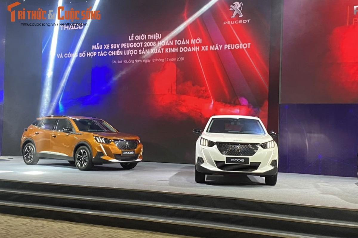 Can canh Peugeot 2008 tai Viet Nam, cao nhat 829 trieu dong