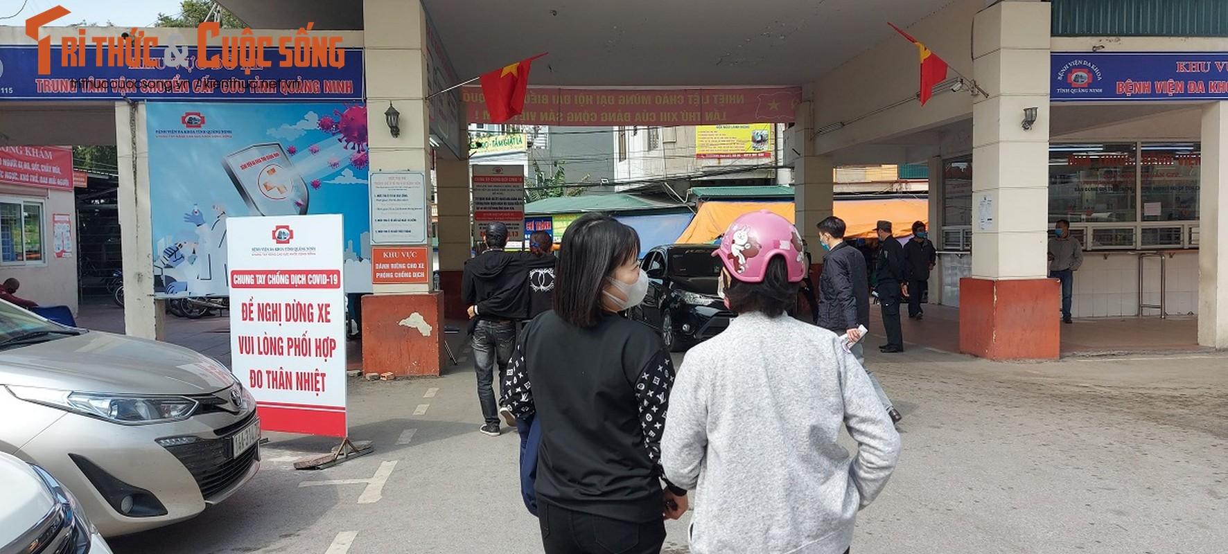 Can canh nguoi Quang Ninh di xet nghiem COVID-19 tra phi tai Benh vien-Hinh-2