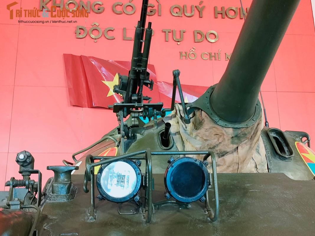 Chiec xe tang huc do cong phu Dinh Doc Lap trong ngay 30/4/1975 gio ra sao?-Hinh-5