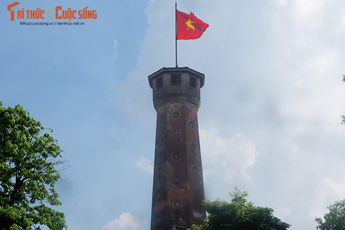 Pho phuong Ha Noi ruc ro co hoa chao mung Quoc khanh 2/9-Hinh-5