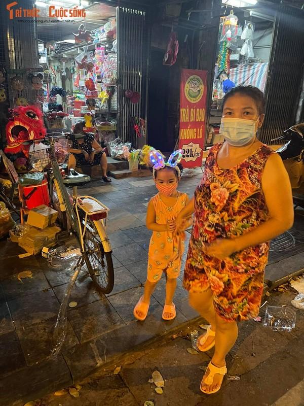 Ha Noi: Dan vuot rao vao pho Hang Ma chup anh, mua do Trung thu-Hinh-10