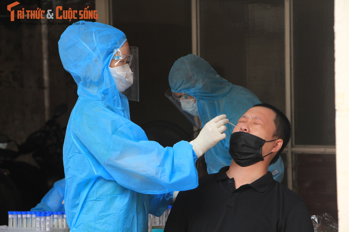 VUSTA to chuc xet nghiem PCR nguoi tham gia Hoi nghi toan quoc-Hinh-8