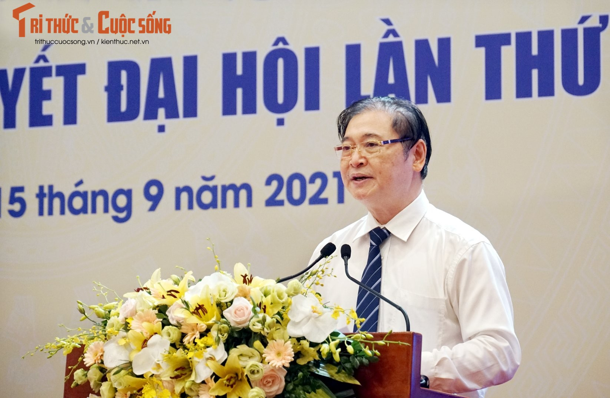 "Toan canh Hoi nghi toan quoc ""Doi ngu tri thuc KH&CN Viet Nam trien khai thuc hien Nghi quyet Dai hoi lan thu XIII cua Dang""-Hinh-12"