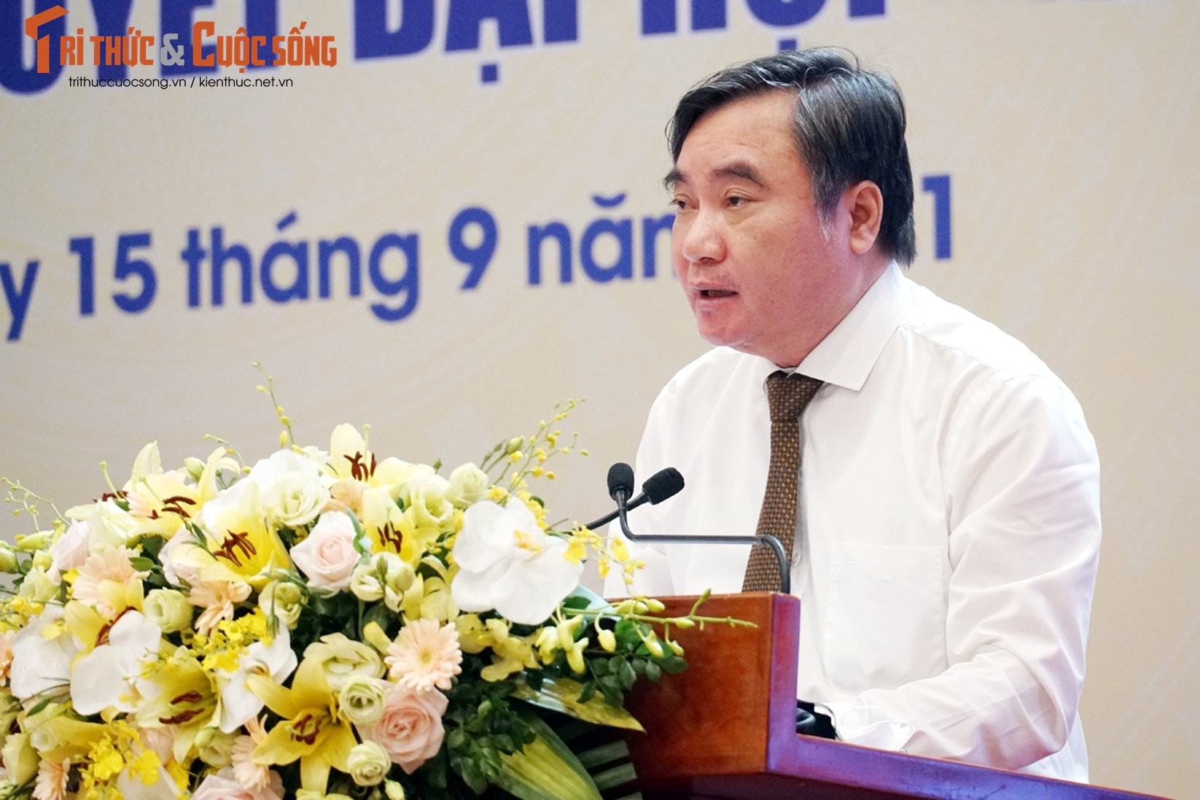 "Toan canh Hoi nghi toan quoc ""Doi ngu tri thuc KH&CN Viet Nam trien khai thuc hien Nghi quyet Dai hoi lan thu XIII cua Dang""-Hinh-13"