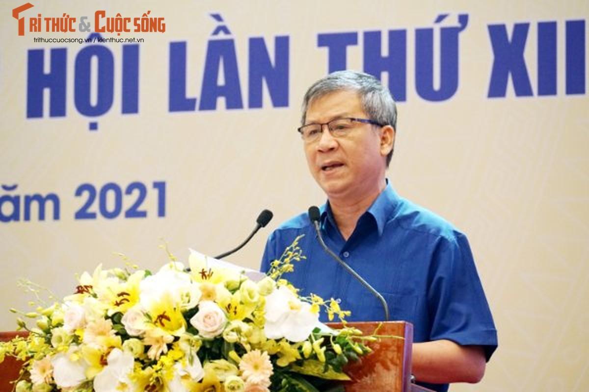 "Toan canh Hoi nghi toan quoc ""Doi ngu tri thuc KH&CN Viet Nam trien khai thuc hien Nghi quyet Dai hoi lan thu XIII cua Dang""-Hinh-14"