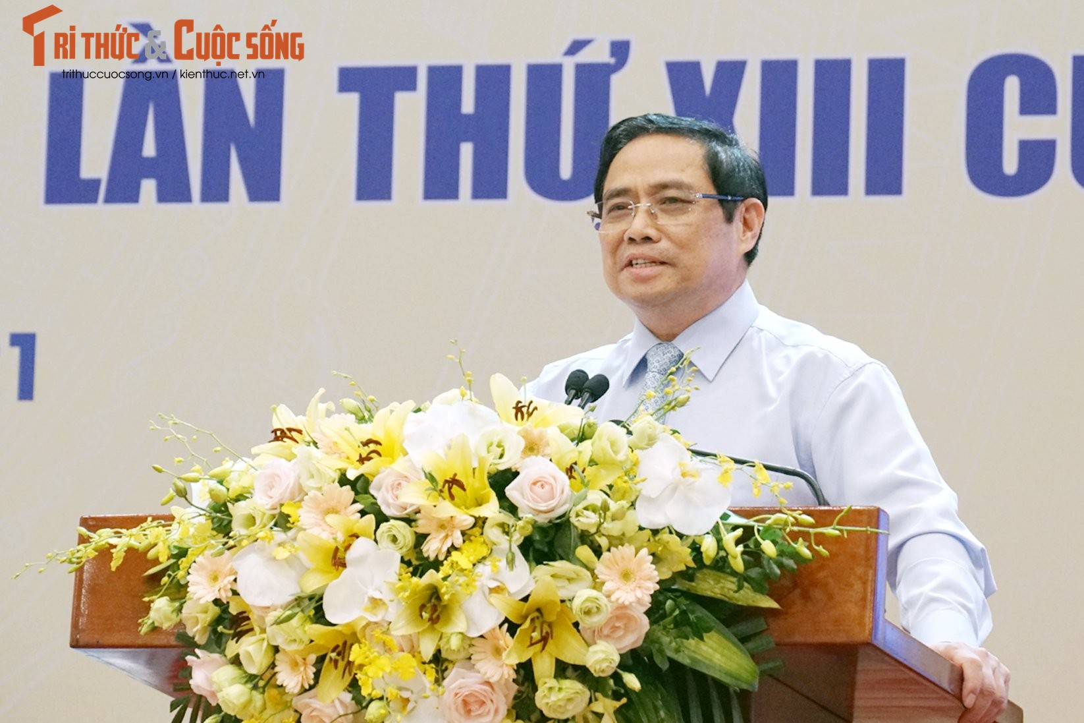 "Toan canh Hoi nghi toan quoc ""Doi ngu tri thuc KH&CN Viet Nam trien khai thuc hien Nghi quyet Dai hoi lan thu XIII cua Dang""-Hinh-17"
