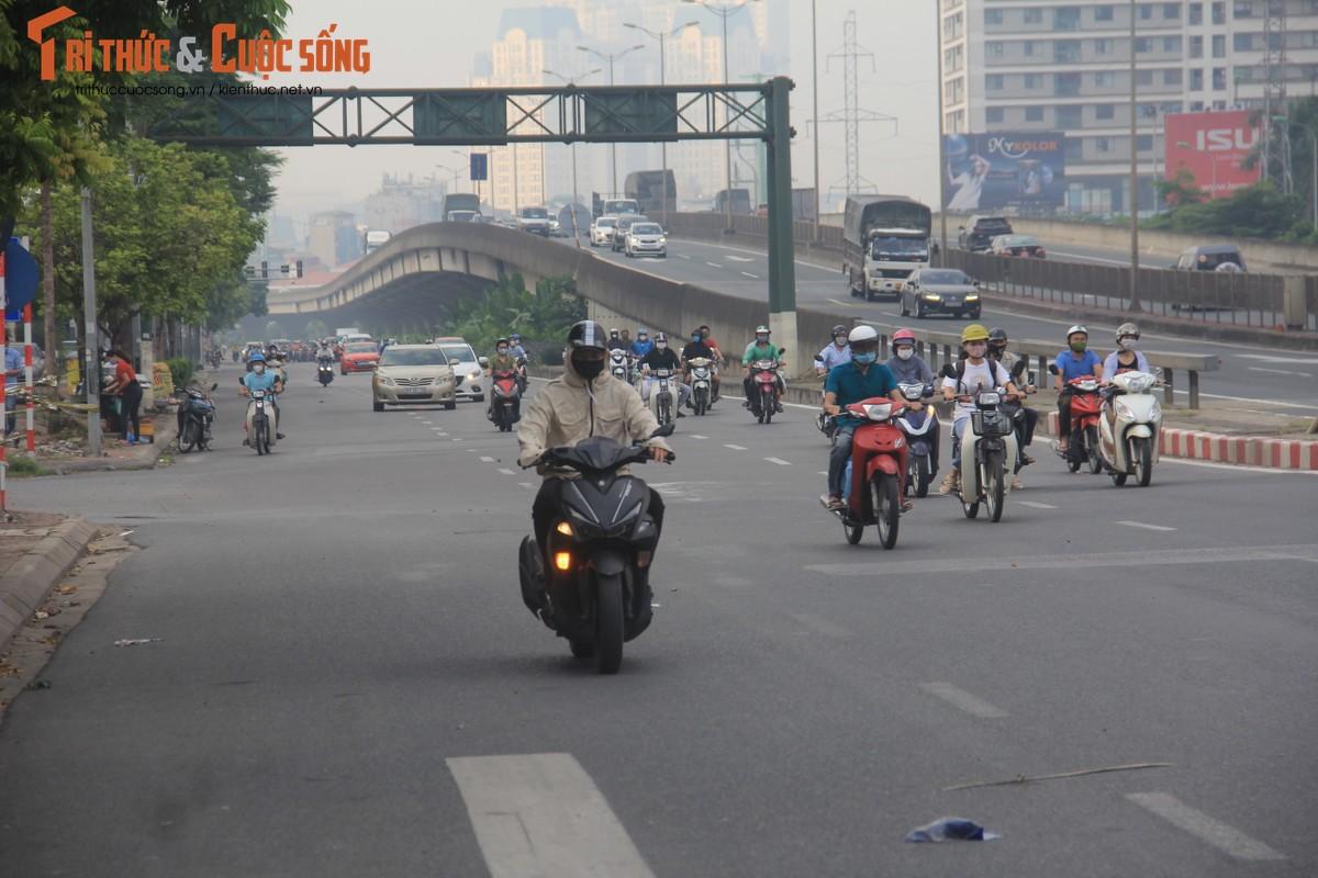 """Cac """"diem nong"""" giao thong Ha Noi the nao sau 2 thang gian cach?-Hinh-8"""
