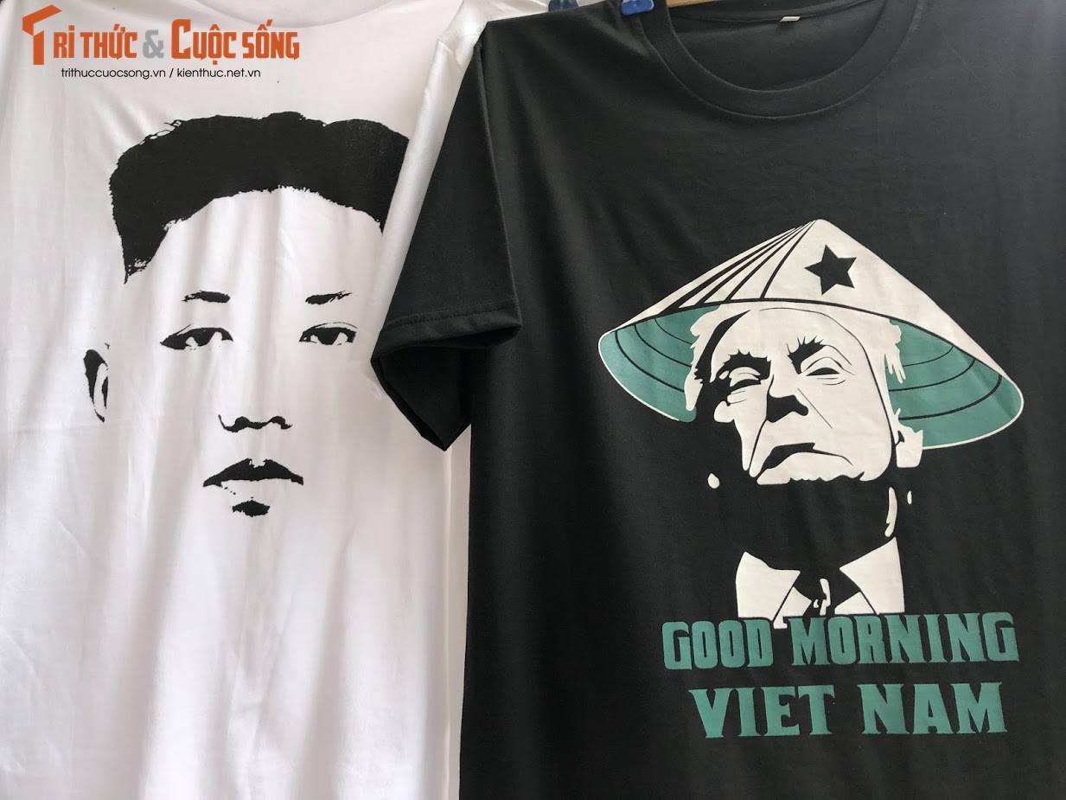 Nguoi Viet thich thu voi ao in hinh Tong thong Trump va Chu tich Kim-Hinh-5