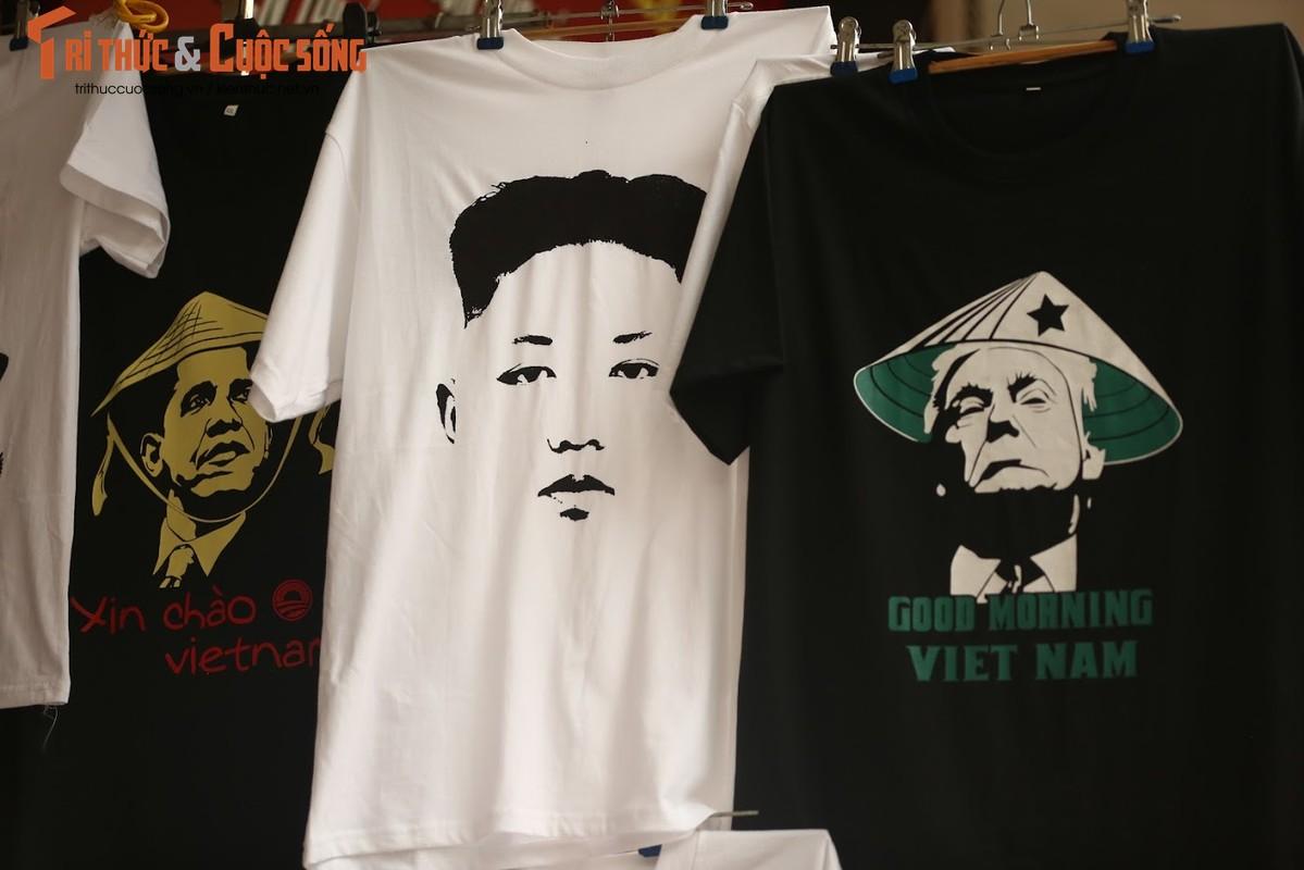 Nguoi Viet thich thu voi ao in hinh Tong thong Trump va Chu tich Kim