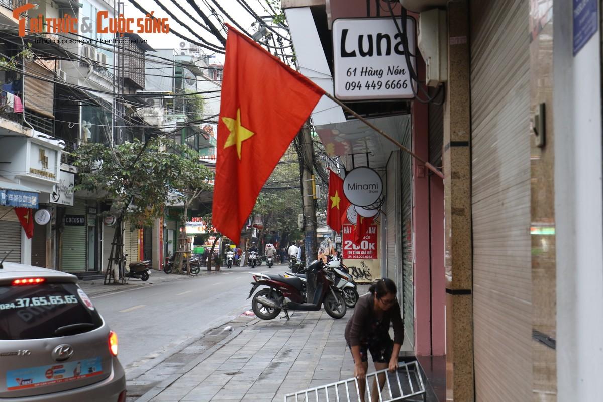 Duong pho Ha Noi rop co hoa tung bung chao don nam moi 2020-Hinh-4