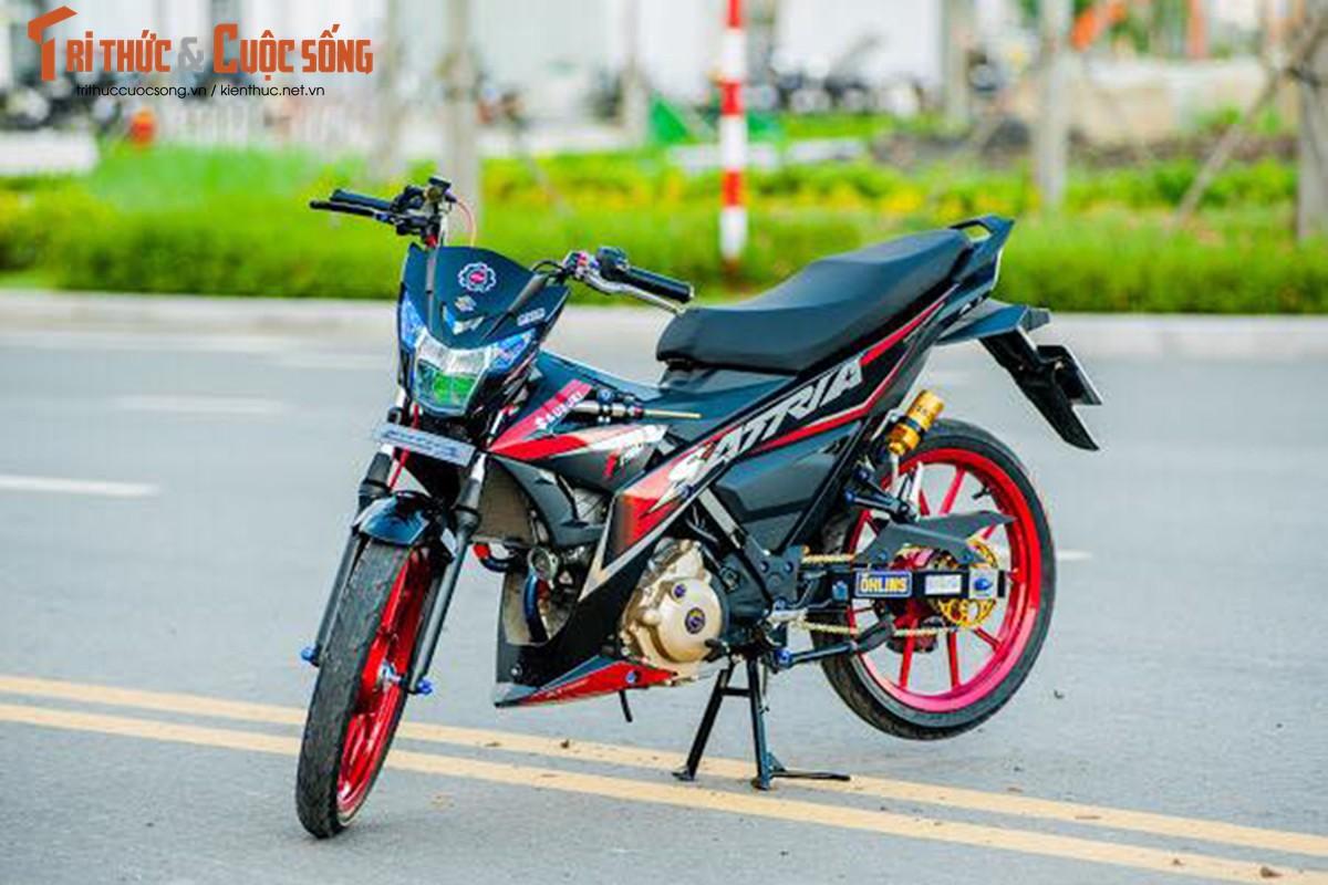 """Dan choi Viet chi hon 200 trieu do """"xe no"""" Suzuki Satria-Hinh-2"""