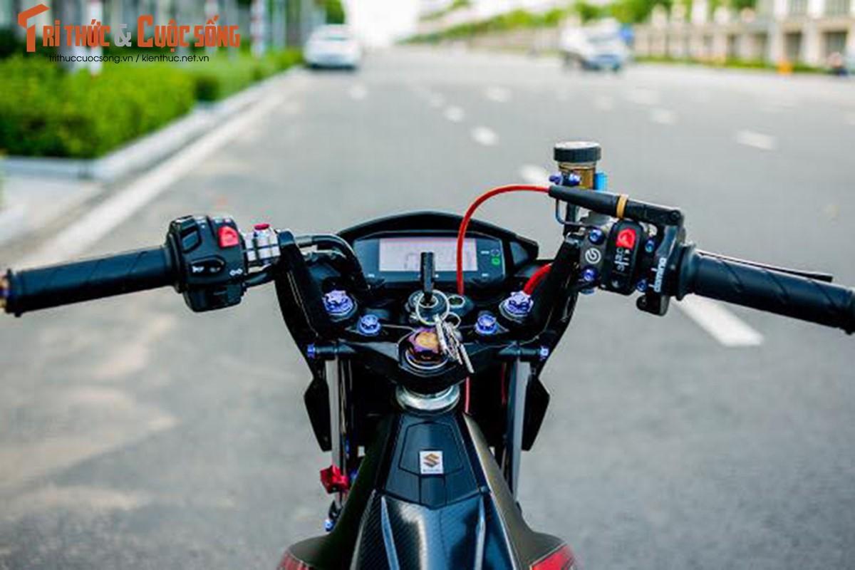 """Dan choi Viet chi hon 200 trieu do """"xe no"""" Suzuki Satria-Hinh-4"""