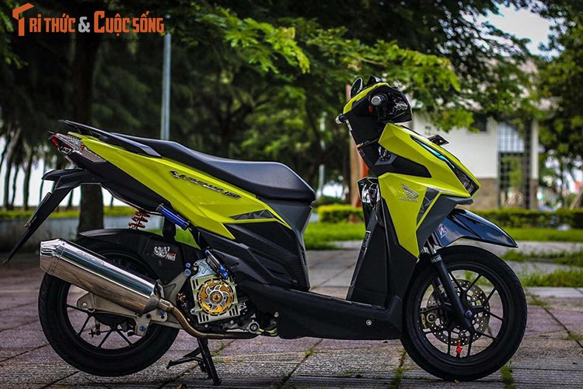 Xe ga Honda Vario gia 70 trieu sieu ca tinh tai Sai Gon