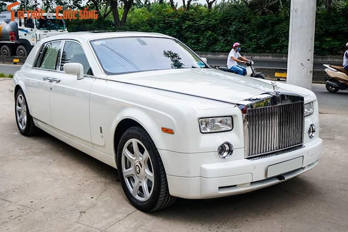 Can canh Rolls-Royce Phantom 2008 gia 11 ty tai Sai Gon
