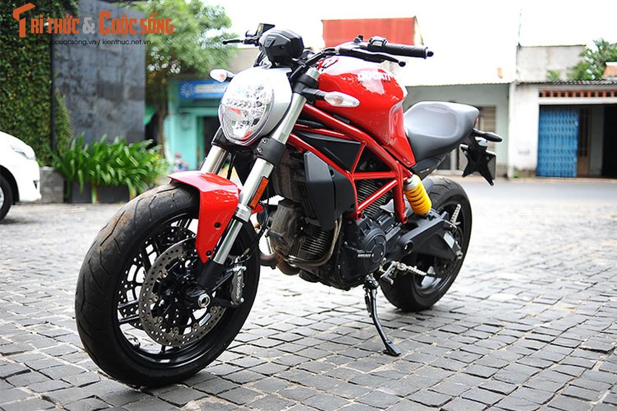 "Cam lai ""quy nho"" Ducati Monster 797 gia 329 trieu tai Viet Nam-Hinh-16"