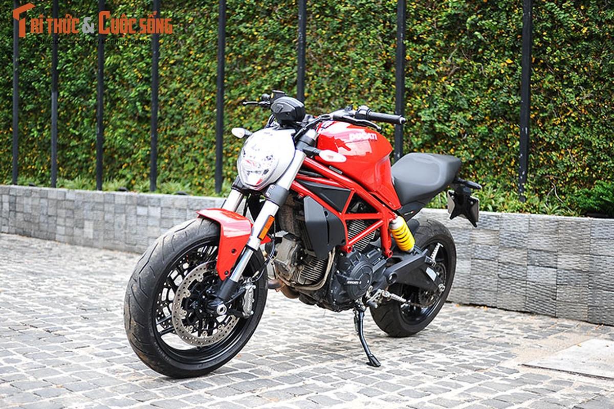 "Cam lai ""quy nho"" Ducati Monster 797 gia 329 trieu tai Viet Nam"