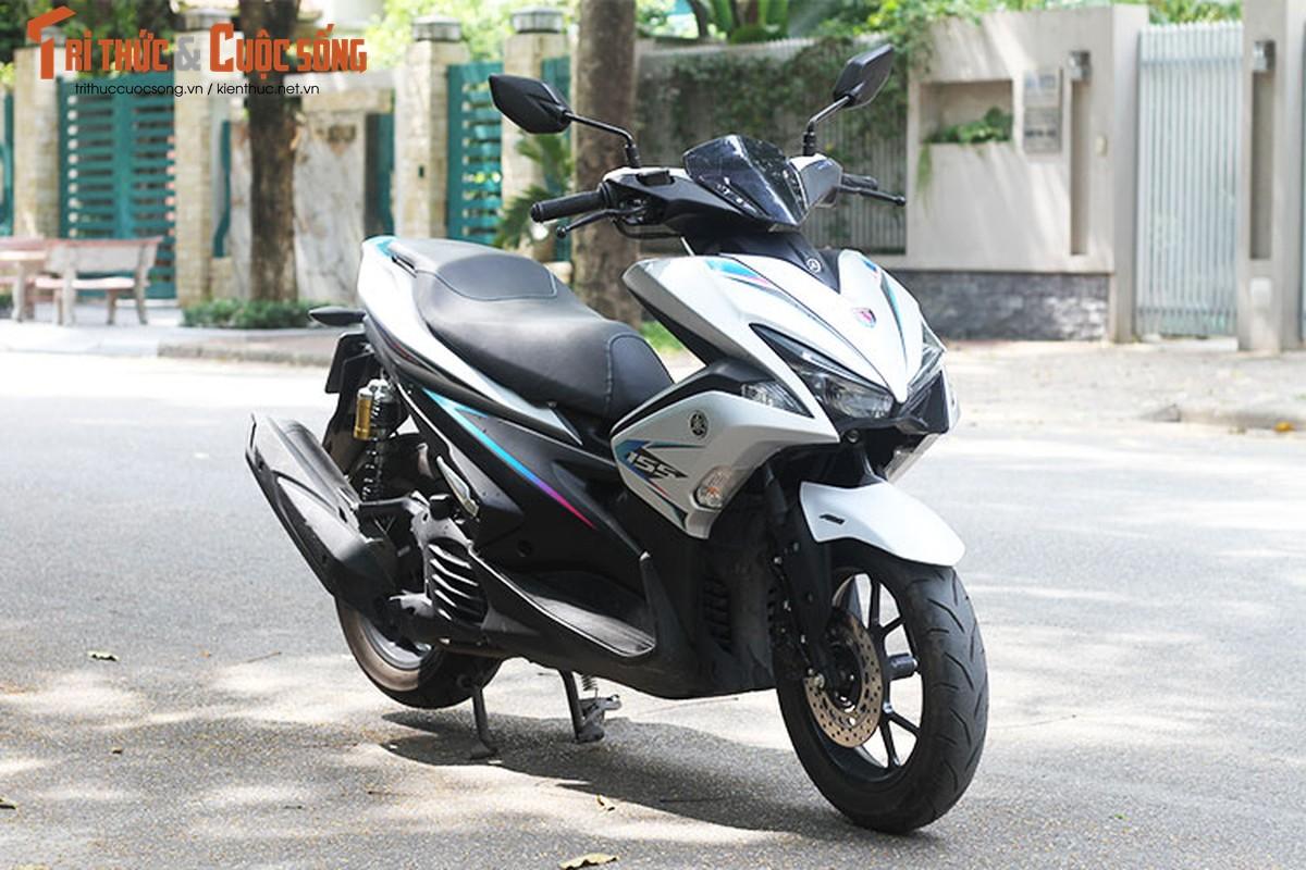 Cam lai Yamaha NVX 155 moi gia 52,7 trieu tai VIet Nam