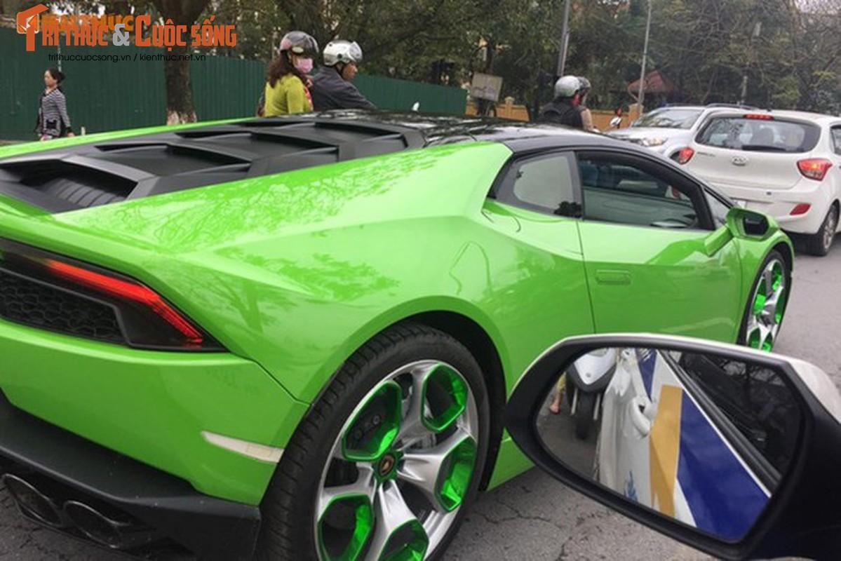 Dan choi Hai Phong tau sieu xe Lamborghini Huracan 16 ty-Hinh-2