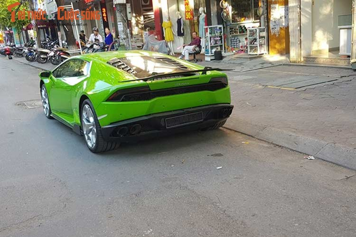 Dan choi Hai Phong tau sieu xe Lamborghini Huracan 16 ty-Hinh-8