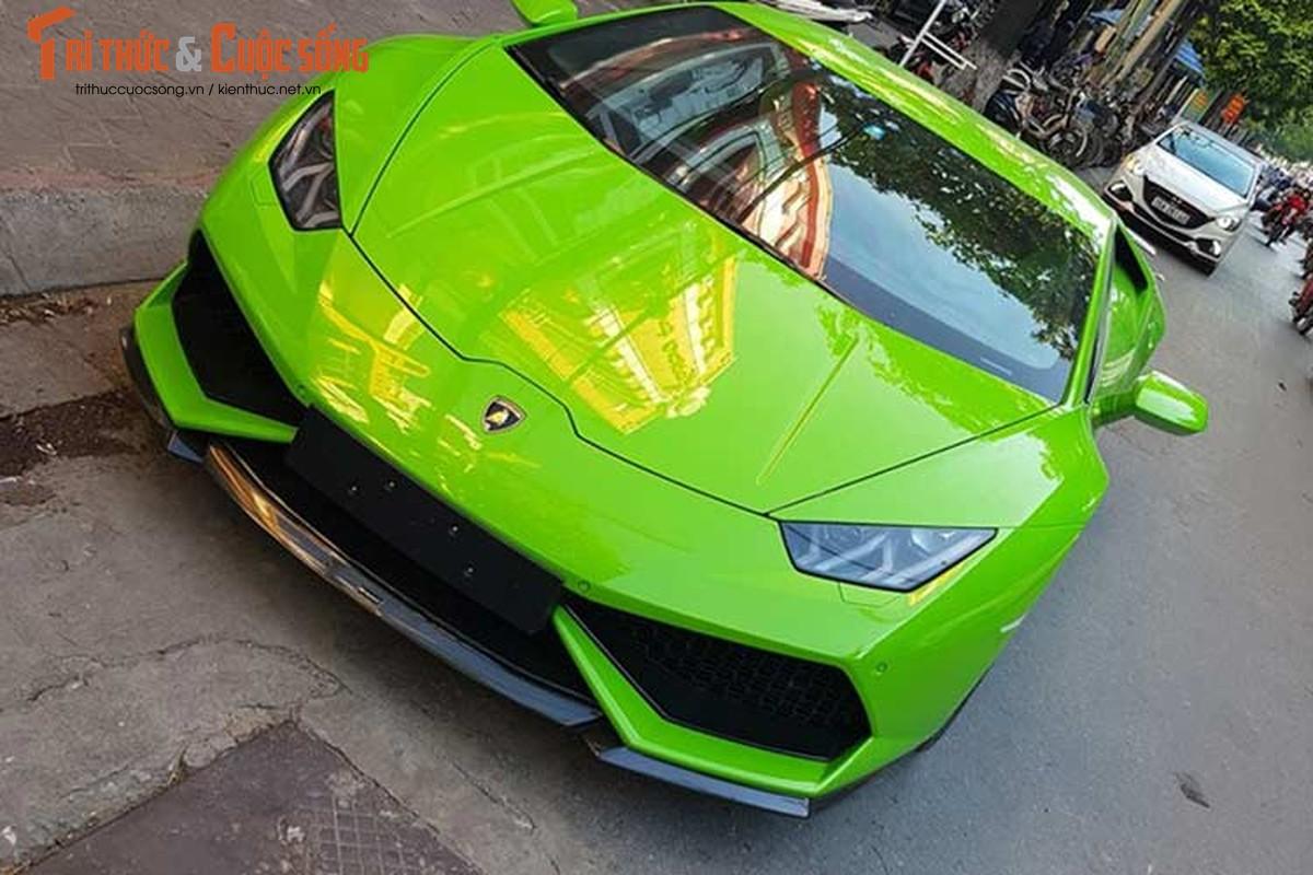 Dan choi Hai Phong tau sieu xe Lamborghini Huracan 16 ty-Hinh-9