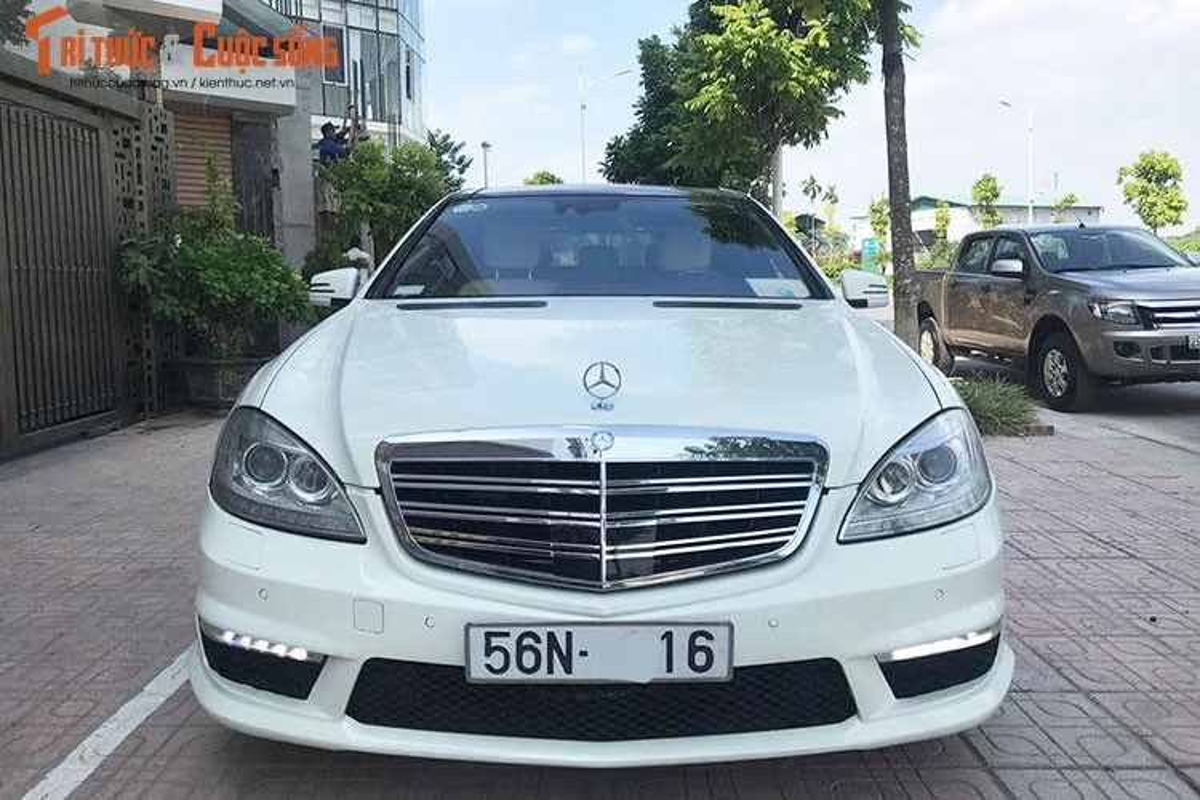 Chi tiet xe sang Mercedes S550 ban chi 980 trieu o Ha Noi-Hinh-3