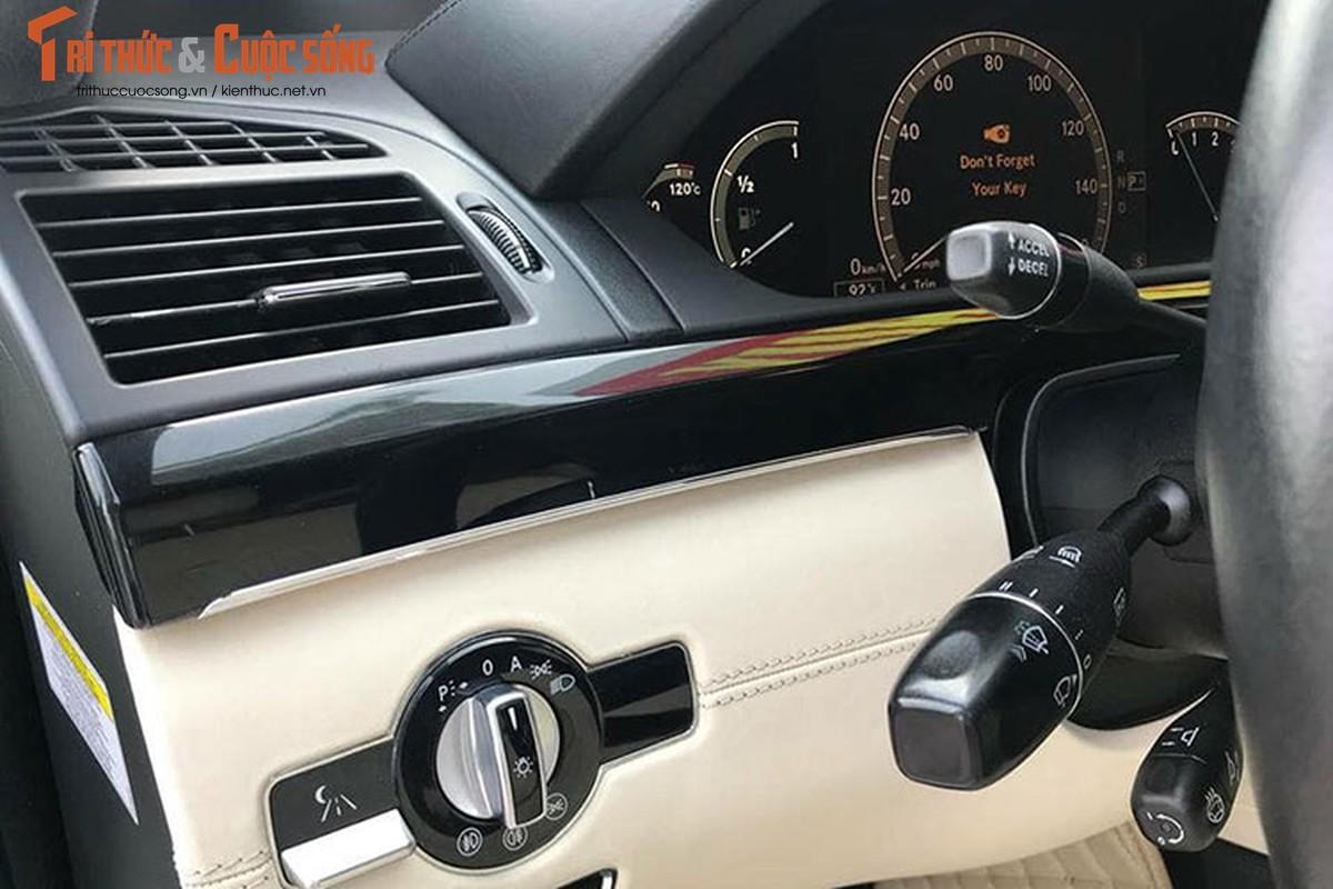 Chi tiet xe sang Mercedes S550 ban chi 980 trieu o Ha Noi-Hinh-7