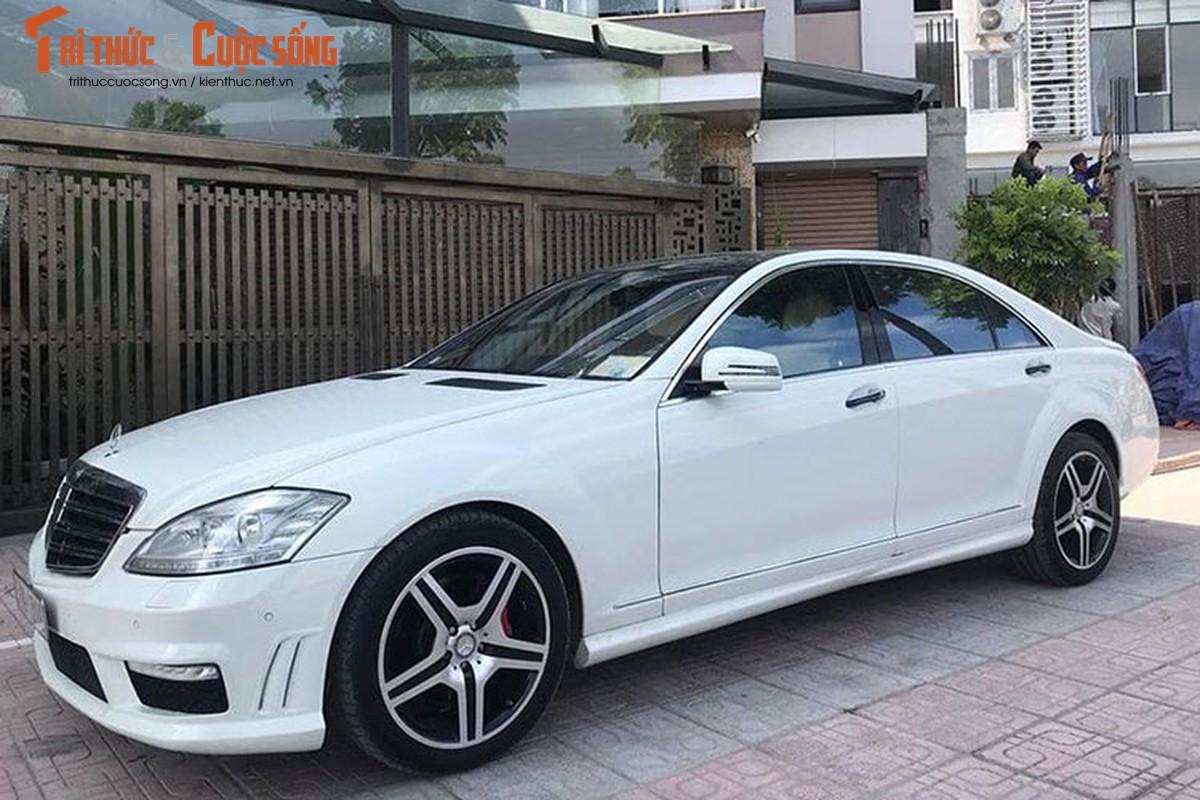 Chi tiet xe sang Mercedes S550 ban chi 980 trieu o Ha Noi