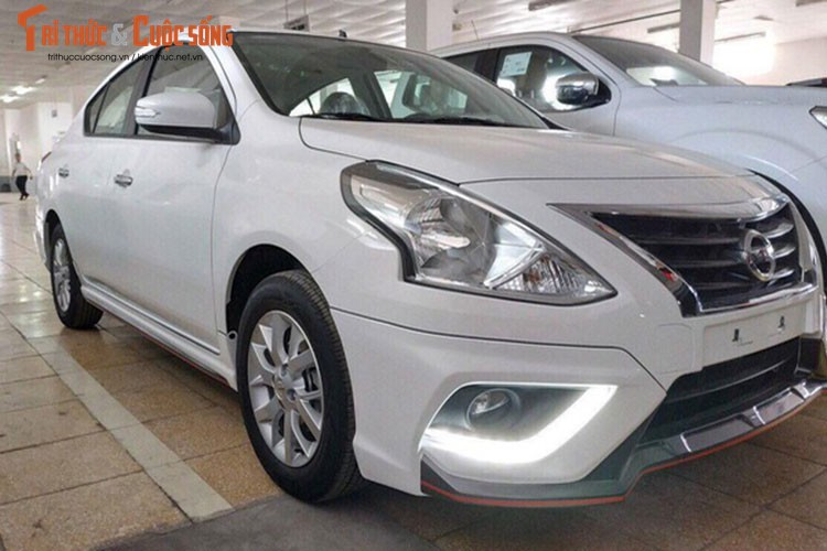 Can canh Nissan Sunny Q-Series 2018 gia re tai Viet Nam-Hinh-8