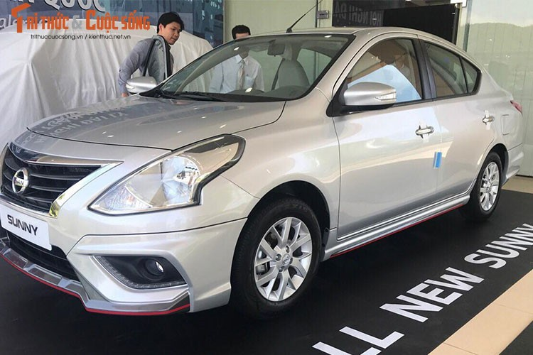 Can canh Nissan Sunny Q-Series 2018 gia re tai Viet Nam