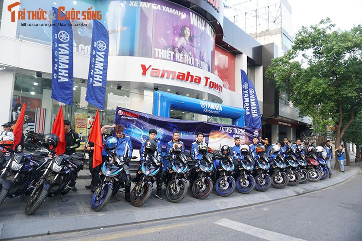 Yamaha Exciter 2019 Touring - xuyen Viet tu Sai Gon den Ha Giang
